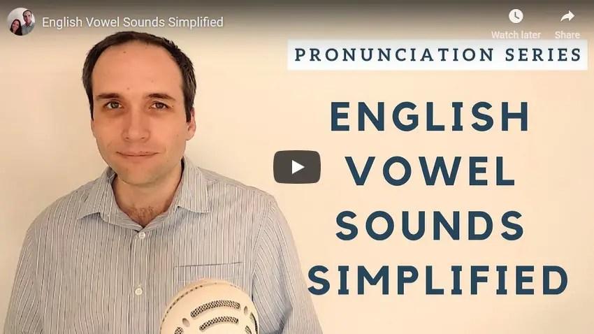 Aprende los sonidos de las vocales en inglés de forma simplificada