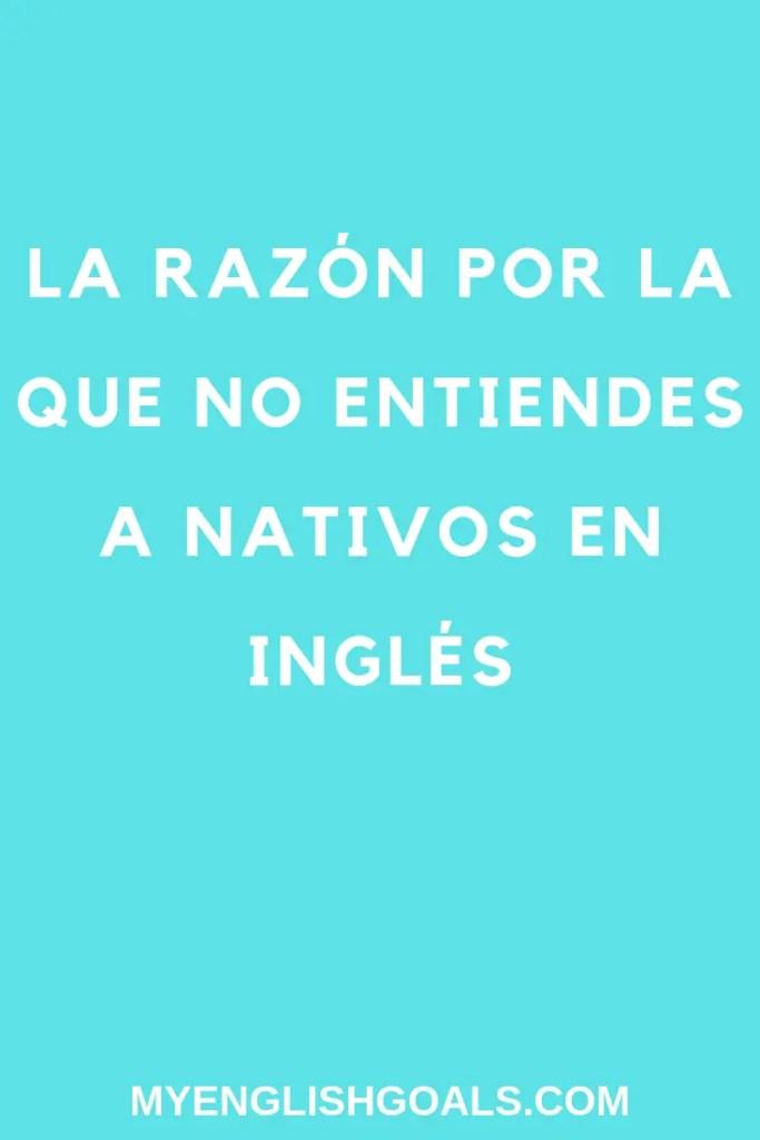 ¿Te cuesta entender a nativos hablar inglés? En esta publicación te explicamos por qué y cómo hacer para entender mejor el inglés.