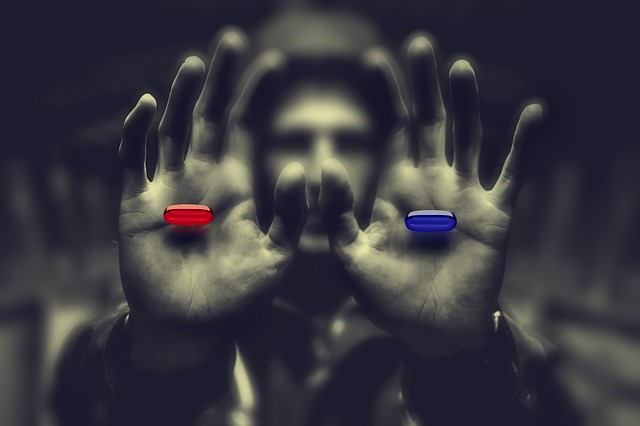 Would you take the blue pill or the red pill?