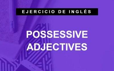 Traduce frases con adjetivos posesivos en inglés (A1 Principiante)