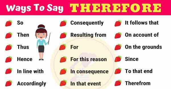 THEREFORE Synonym: 26 Synonyms for THEREFORE in English ...