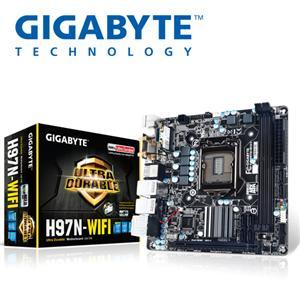 GIGABYTE技嘉 GA-H97N-WIFI 主機板 新品★Intel H97 - myepson 臺灣愛普生原廠購物網站