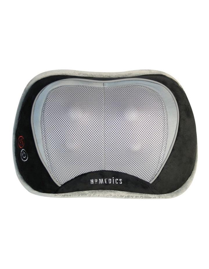 homedics shiatsu select massage pillow with heat black sp100hbkau