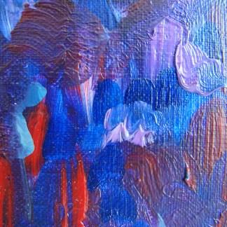 Фрагмент картины «Зазеркалье 2»