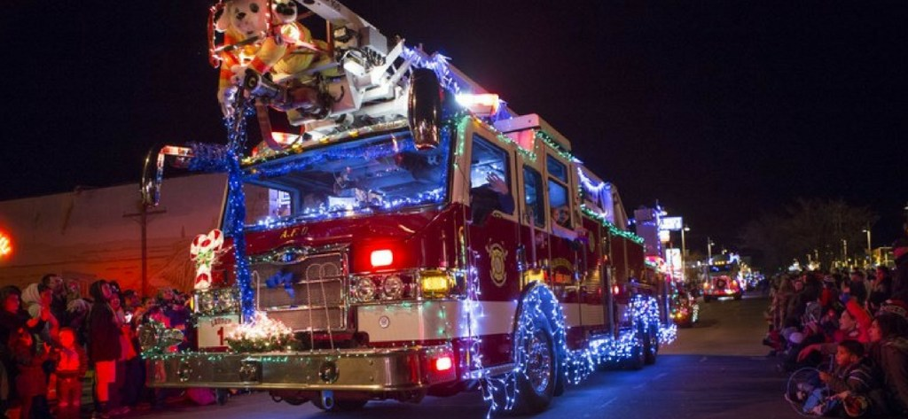 Albuquerque's holiday Twinkle Light Parade