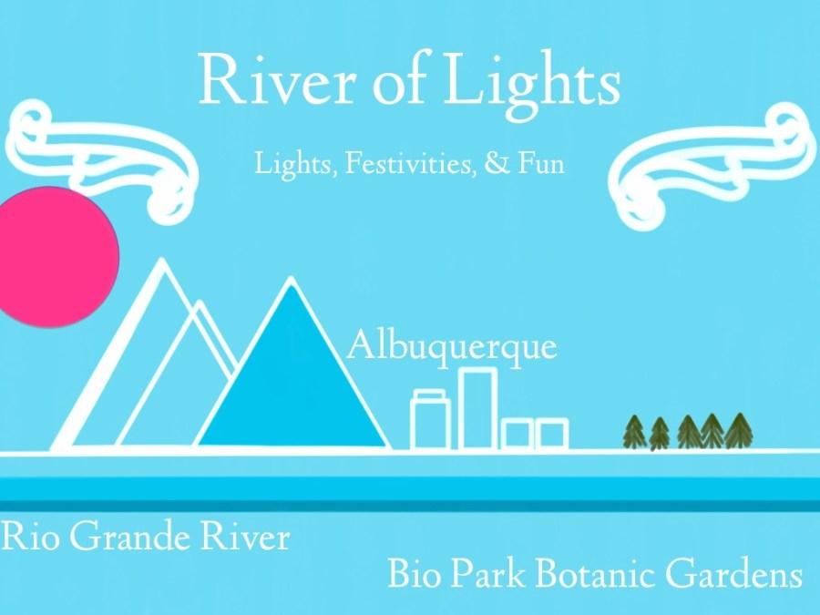 River Of Lights In Albuquerque NM