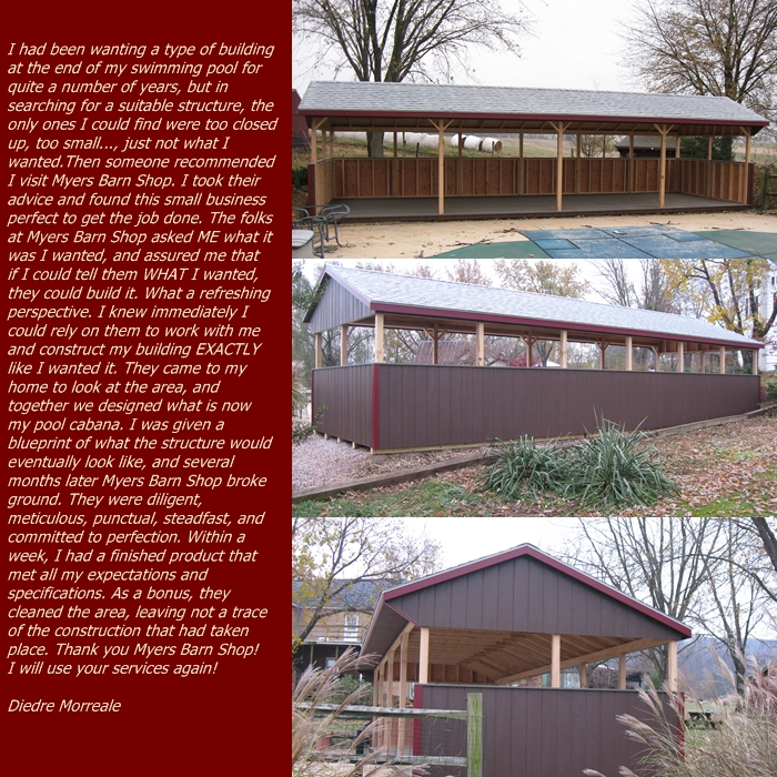 Reisterstown Md Bank Barn With Garage: Pool Cabana/Pavilion