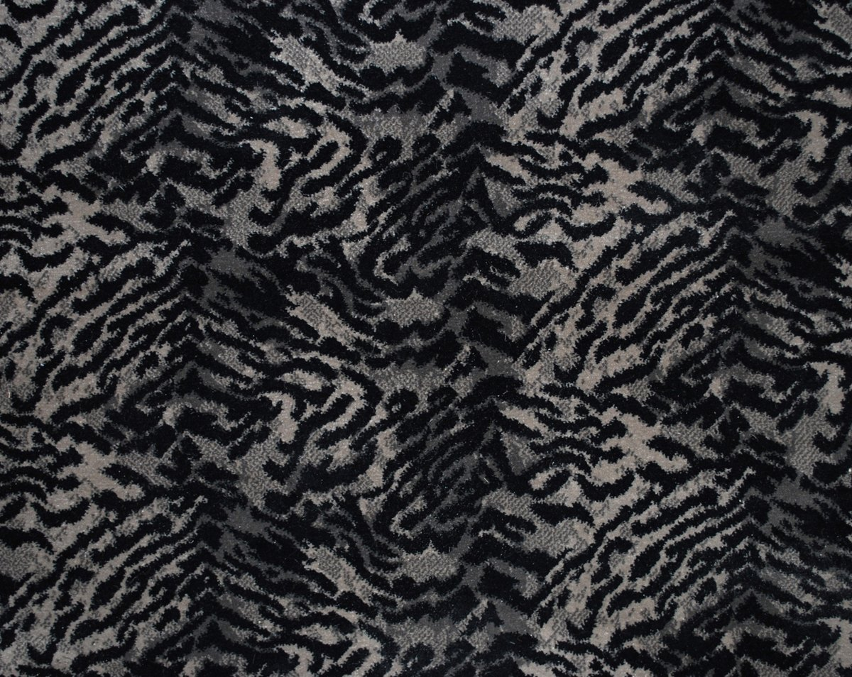 Animal Prints By Prestige Mills Tiger Ii Charcoal