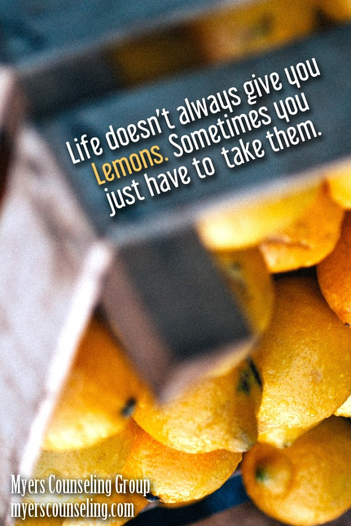 Inspirational Quote of the Day: Lemons