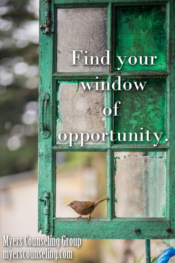 Inspirational Quote of the Day: Your Window