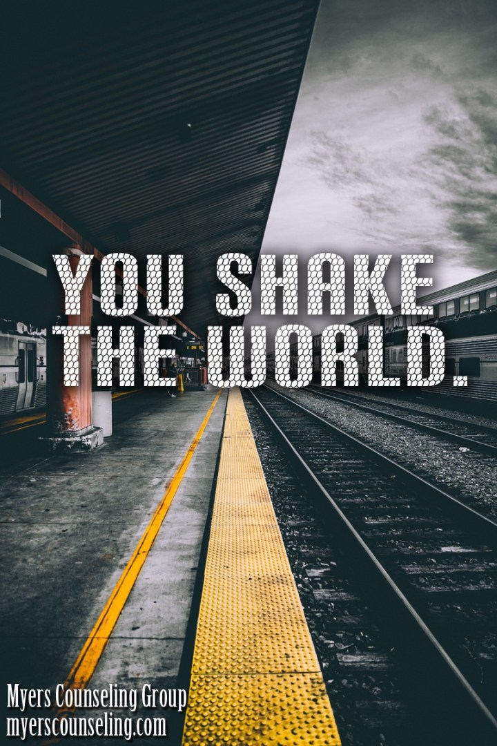 Inspirational Quote of the Day: Shake