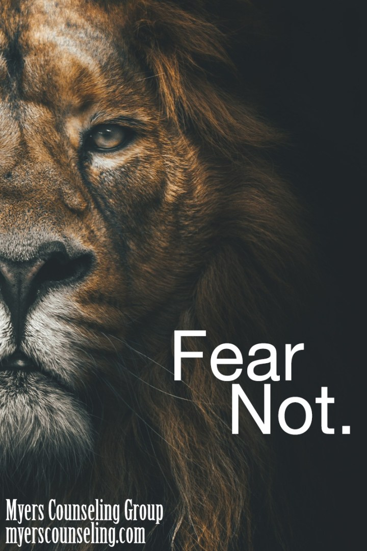 Inspirational Quote of the Day: Fear Not