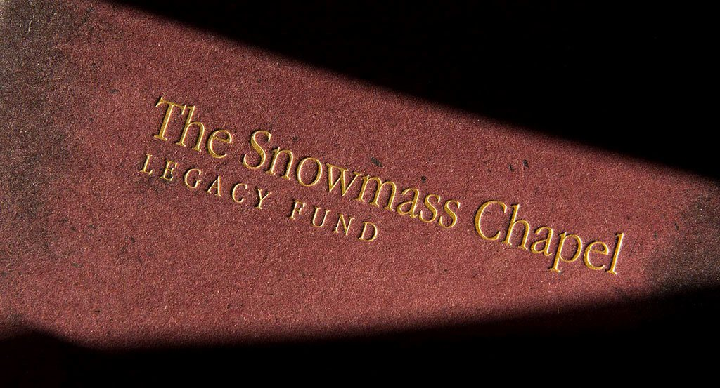 TMRC Myers Roberts Snowmass Chapel