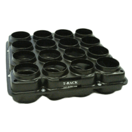 "Cylinder Transport Rack 4"" x 8"" Molds"
