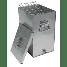 rectangular mortar bar container