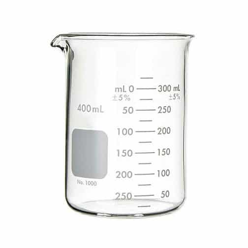 Graduated Glass Beakers Myers Construction Materials Testing