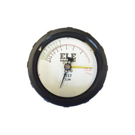 White Air Meter Gauge