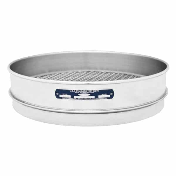"""Intermediate Height Stainless-Stainless Sieves 12"""""""