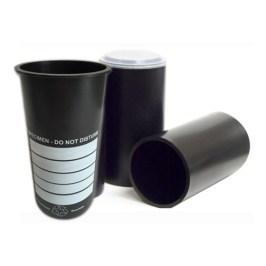 Deslauriers 4-Inch Standard Black Cylinder Molds