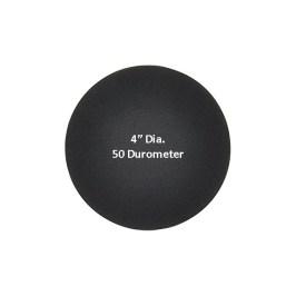 4-Inch 50 Durometer Neoprene Pads