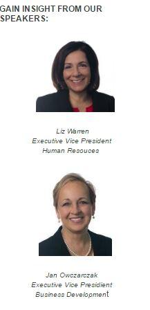 Liz Warren and Jan Owscarczak