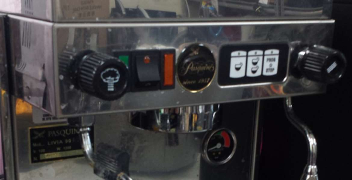 pasquini espresso machine repair