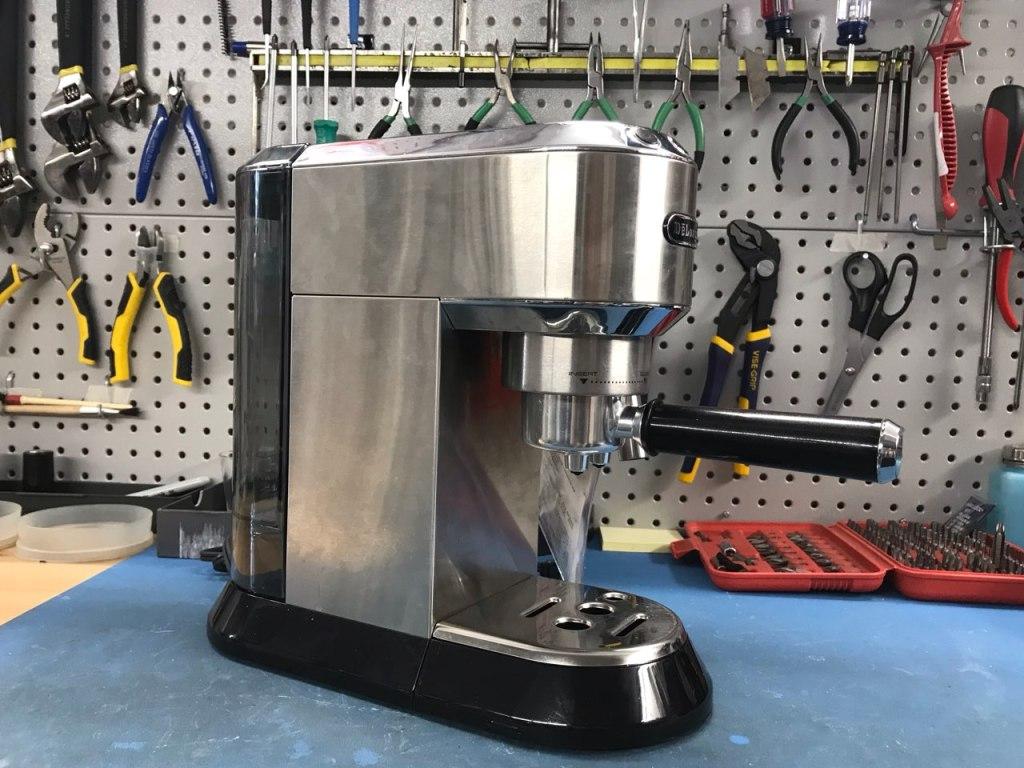 DeLonghi Dedica espresso machine before repair
