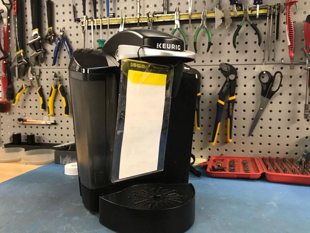 Keurig coffee machine before repair