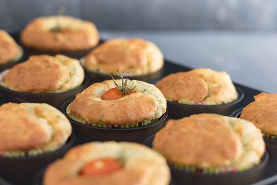 Herzhafte Muffins zum Brunch