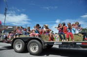 What's better than a trailer full of kids playing violins?
