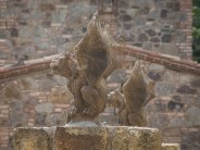 And a castle needs some gargoyles. Ken thinks we should consider them for our house too.