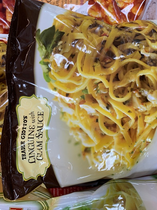 trader joe's linguine with clam sauce