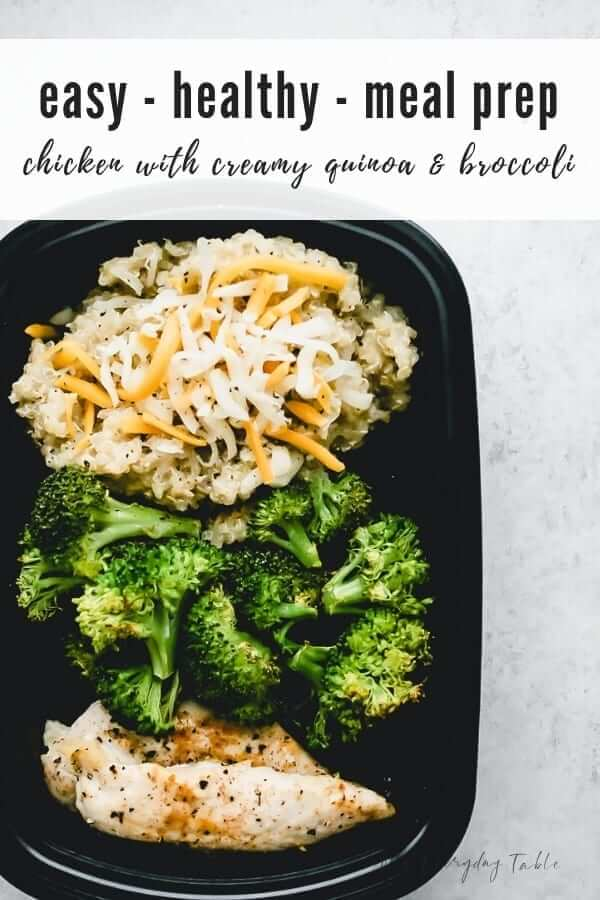 Chicken Meal Prep With Quinoa And Broccoli My Everyday Table