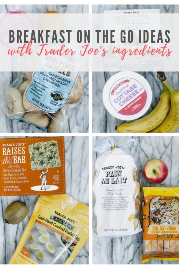 healthy breakfast items from Trader Joe's - pinterest