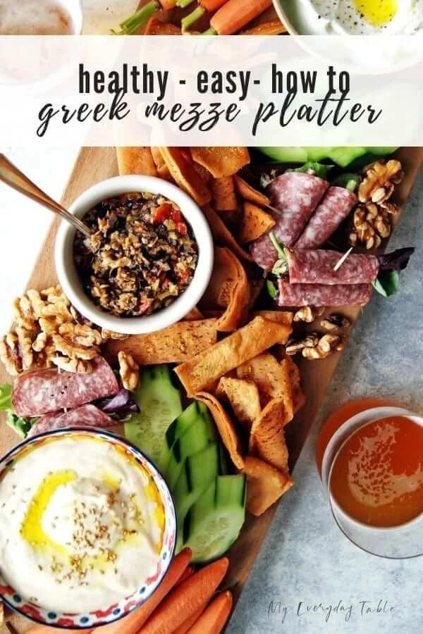 How to Build an Easy Greek Mezze Platter