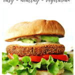 veggie burger recipe - pinterest