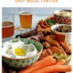 mezze platter recipe - pinterest