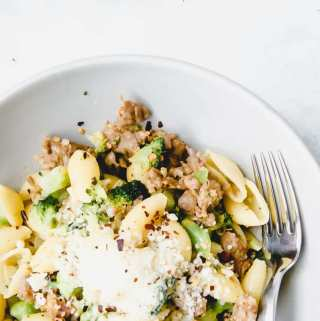 Orecchiette with Sausage and Broccoli