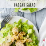 panzanella chicken caesar salad recipe - pinterest