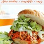 Slow Cooker Buffalo Chicken recipe - pinterest