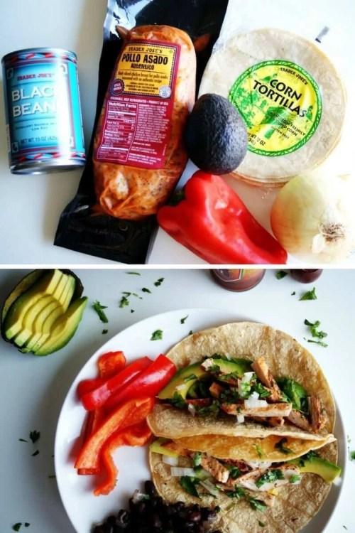 easy trader joes recipe pollo asada tacos