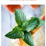 mango sangria recipe - pinterest
