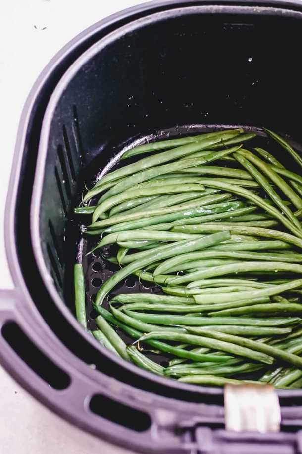air fryer french green beans