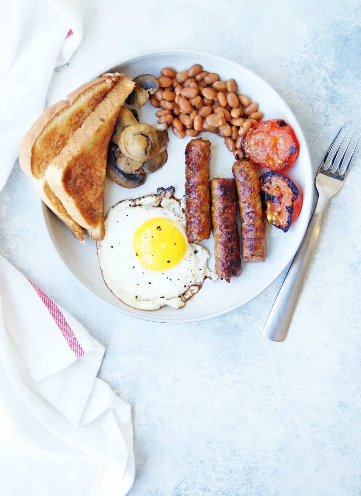 Healthy Full English Breakfast Recipe