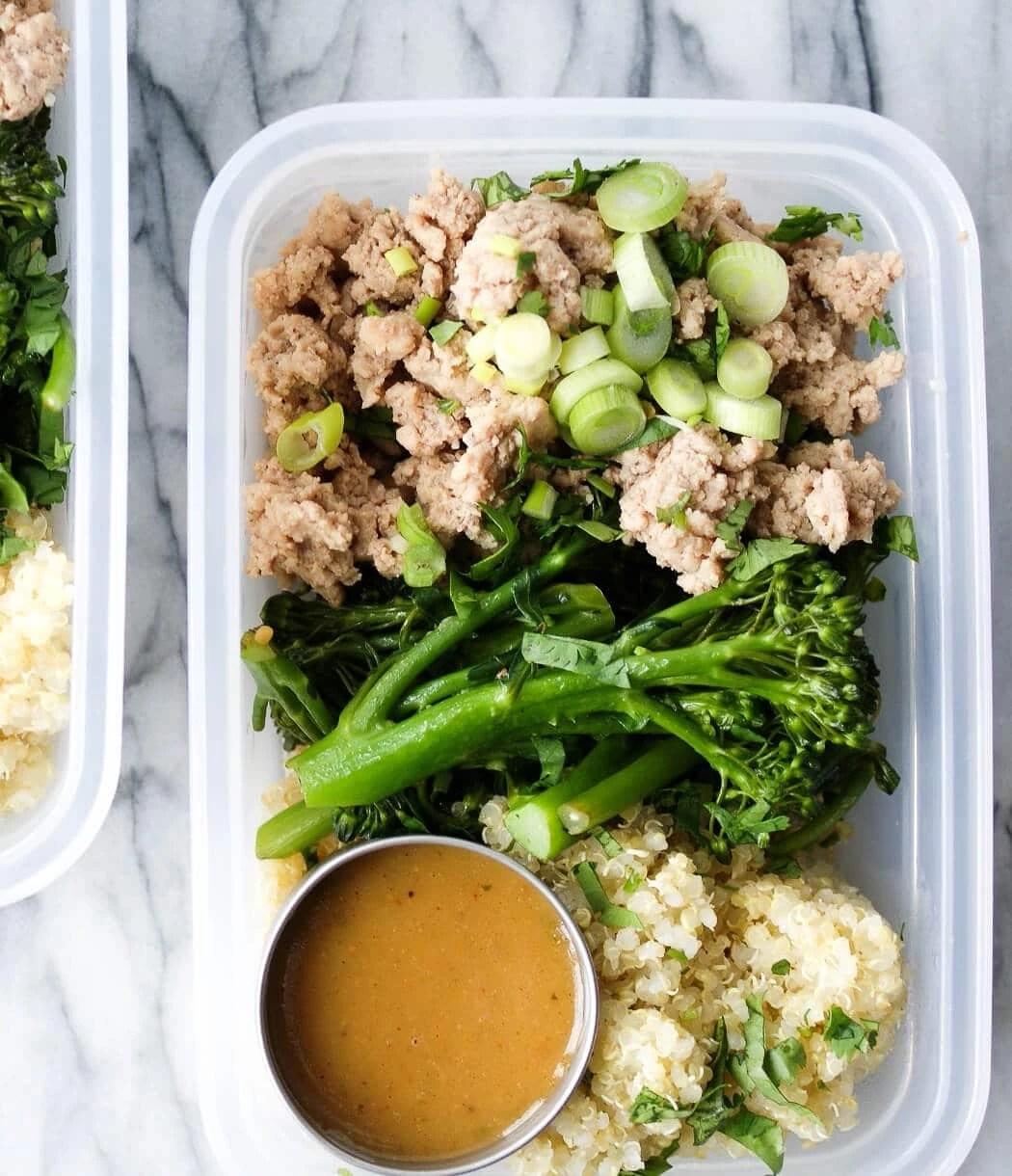Ground Turkey Meal Prep Bowls Recipe 4 Trader Joes Ingredients