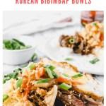 easy bibimbap bowls - pinterest