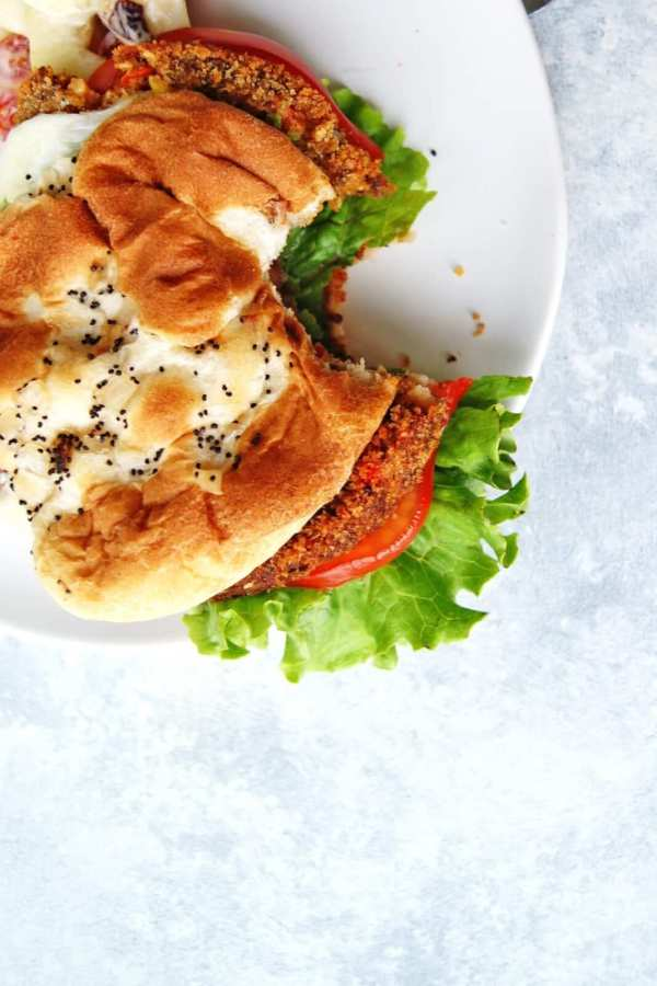 loaded veggie burgers
