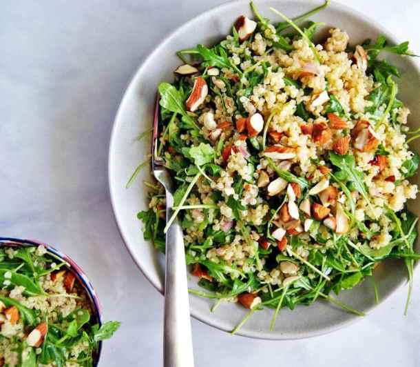 quinoa arugula salad