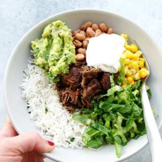 Slow Cooker Barbacoa (Chipotle copycat!)
