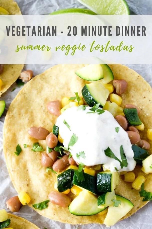 vegetarian tostadas - pinterest